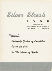 Page 6, 1950 Edition, Steinmetz High School - Silver Streak Yearbook (Chicago, IL) online yearbook collection