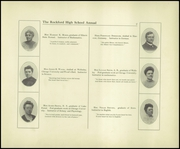 Page 13, 1908 Edition, Rockford High School - RHS Yearbook (Rockford, IL) online yearbook collection