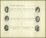 Page 17, 1908 Edition, Rockford High School - RHS Yearbook (Rockford, IL) online yearbook collection