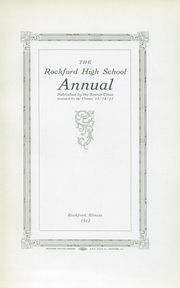 Page 7, 1912 Edition, Rockford High School - RHS Yearbook (Rockford, IL) online yearbook collection