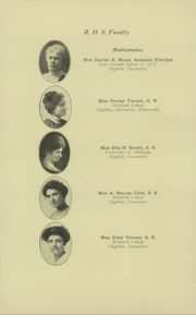 Page 16, 1913 Edition, Rockford High School - RHS Yearbook (Rockford, IL) online yearbook collection