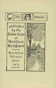 Page 5, 1913 Edition, Rockford High School - RHS Yearbook (Rockford, IL) online yearbook collection