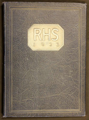 Rockford High School - RHS Yearbook (Rockford, IL) online yearbook collection, 1923 Edition, Page 1