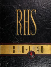 1940 Edition, Rockford High School - RHS Yearbook (Rockford, IL)