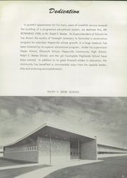 Page 9, 1958 Edition, Naperville Central High School - Arrowhead Yearbook (Naperville, IL) online yearbook collection