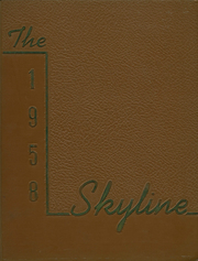 1958 Edition, United Township High School - Skyline Yearbook (East Moline, IL)