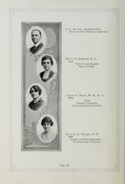 Page 12, 1920 Edition, Downers Grove North High School - Cauldron Yearbook (Downers Grove, IL) online yearbook collection