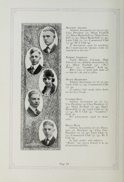 Page 16, 1920 Edition, Downers Grove North High School - Cauldron Yearbook (Downers Grove, IL) online yearbook collection