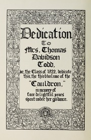 Page 6, 1922 Edition, Downers Grove North High School - Cauldron Yearbook (Downers Grove, IL) online yearbook collection