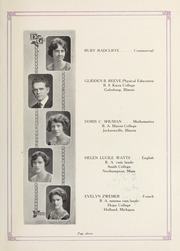 Page 13, 1924 Edition, Downers Grove North High School - Cauldron Yearbook (Downers Grove, IL) online yearbook collection