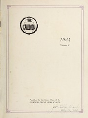 Page 3, 1924 Edition, Downers Grove North High School - Cauldron Yearbook (Downers Grove, IL) online yearbook collection