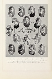 Page 12, 1926 Edition, Downers Grove North High School - Cauldron Yearbook (Downers Grove, IL) online yearbook collection