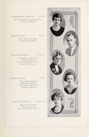 Page 17, 1926 Edition, Downers Grove North High School - Cauldron Yearbook (Downers Grove, IL) online yearbook collection