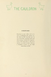 Page 8, 1929 Edition, Downers Grove North High School - Cauldron Yearbook (Downers Grove, IL) online yearbook collection