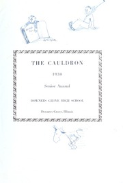 Page 5, 1930 Edition, Downers Grove North High School - Cauldron Yearbook (Downers Grove, IL) online yearbook collection