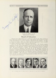 Page 14, 1934 Edition, Downers Grove North High School - Cauldron Yearbook (Downers Grove, IL) online yearbook collection
