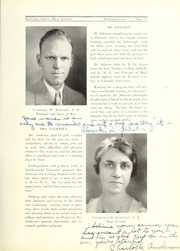 Page 15, 1934 Edition, Downers Grove North High School - Cauldron Yearbook (Downers Grove, IL) online yearbook collection