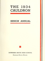 Page 7, 1934 Edition, Downers Grove North High School - Cauldron Yearbook (Downers Grove, IL) online yearbook collection