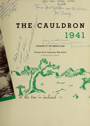 Page 7, 1941 Edition, Downers Grove North High School - Cauldron Yearbook (Downers Grove, IL) online yearbook collection