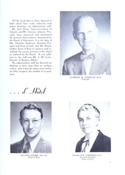 Page 13, 1953 Edition, Downers Grove North High School - Cauldron Yearbook (Downers Grove, IL) online yearbook collection