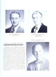 Page 15, 1954 Edition, Downers Grove North High School - Cauldron Yearbook (Downers Grove, IL) online yearbook collection