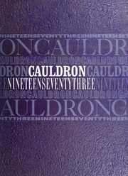 Page 1, 1973 Edition, Downers Grove North High School - Cauldron Yearbook (Downers Grove, IL) online yearbook collection