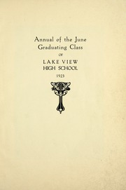 Page 11, 1923 Edition, Lake View High School - Red and White Yearbook (Chicago, IL) online yearbook collection