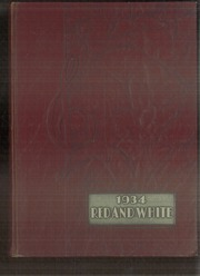 Lake View High School - Red and White Yearbook (Chicago, IL) online yearbook collection, 1934 Edition, Page 1