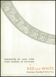 Page 6, 1942 Edition, Lake View High School - Red and White Yearbook (Chicago, IL) online yearbook collection