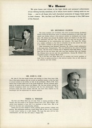 Page 14, 1948 Edition, Lake View High School - Red and White Yearbook (Chicago, IL) online yearbook collection