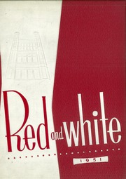 1951 Edition, Lake View High School - Red and White Yearbook (Chicago, IL)