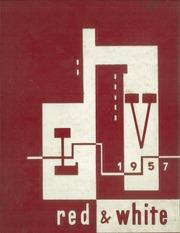 1957 Edition, Lake View High School - Red and White Yearbook (Chicago, IL)