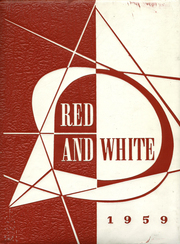 1959 Edition, Lake View High School - Red and White Yearbook (Chicago, IL)