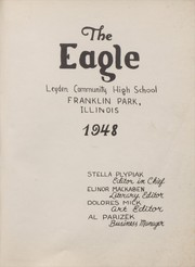 Page 5, 1948 Edition, East Leyden High School - Eagle Yearbook (Franklin Park, IL) online yearbook collection