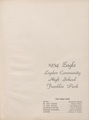 Page 5, 1954 Edition, East Leyden High School - Eagle Yearbook (Franklin Park, IL) online yearbook collection