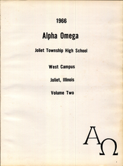 Page 5, 1966 Edition, Joliet West High School - Alpha Omega Yearbook (Joliet, IL) online yearbook collection