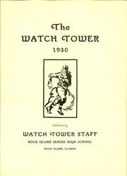 Page 5, 1930 Edition, Rock Island High School - Watchtower Yearbook (Rock Island, IL) online yearbook collection