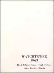Page 5, 1965 Edition, Rock Island High School - Watchtower Yearbook (Rock Island, IL) online yearbook collection