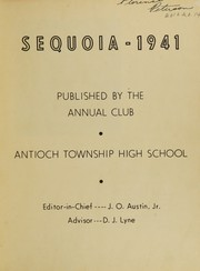 Page 3, 1941 Edition, Antioch Community High School - Sequoia Yearbook (Antioch, IL) online yearbook collection