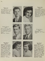 Page 16, 1949 Edition, Antioch Community High School - Sequoia Yearbook (Antioch, IL) online yearbook collection
