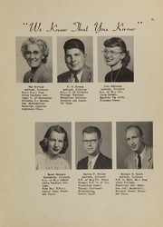 Page 11, 1950 Edition, Antioch Community High School - Sequoia Yearbook (Antioch, IL) online yearbook collection