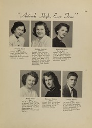 Page 17, 1950 Edition, Antioch Community High School - Sequoia Yearbook (Antioch, IL) online yearbook collection