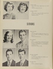 Page 16, 1951 Edition, Antioch Community High School - Sequoia Yearbook (Antioch, IL) online yearbook collection