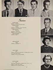 Page 17, 1954 Edition, Antioch Community High School - Sequoia Yearbook (Antioch, IL) online yearbook collection