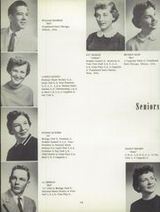 Page 22, 1956 Edition, Antioch Community High School - Sequoia Yearbook (Antioch, IL) online yearbook collection
