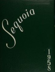 1958 Edition, Antioch Community High School - Sequoia Yearbook (Antioch, IL)