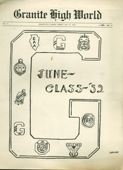 Page 1, 1952 Edition, Granite City High School - Warrior Yearbook (Granite City, IL) online yearbook collection