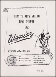 Page 5, 1955 Edition, Granite City High School - Warrior Yearbook (Granite City, IL) online yearbook collection