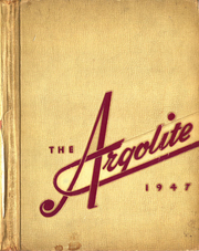 Argo Community High School - Argolite Yearbook (Argo, IL) online yearbook collection, 1947 Edition, Page 1