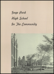 Page 10, 1950 Edition, Gage Park High School - Icarian Yearbook (Chicago, IL) online yearbook collection
